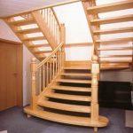 schody podwójne