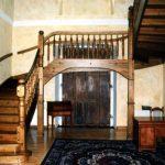 stare schody drewniany