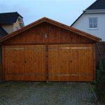garaż / wiata drewniana