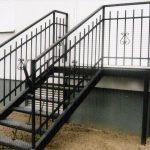 schody metalowe tarasowe