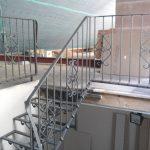 metalowe schody na poddasze