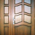drzwi drewniane patyna