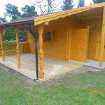 altana ogrodowa z tarasem