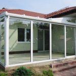 zimowy ogród szklany