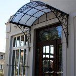 Dach über der Tür