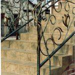 pięknie zdobiona balustrada schodów