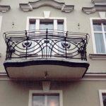 balkon balustrada metalowa