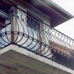balustrada balkonu i tarasu