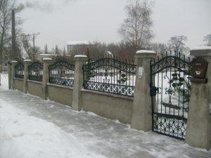 ogrodzenia z metalu
