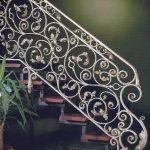 pięknie zdobiona balustrada