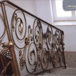 zdobione schody balustrada wnętrze