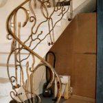 atrakcyjna balustrada schodów