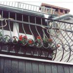 zdobiona balustrada balkonu