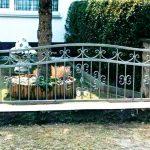 estetyczne ogrodzenie metalowe