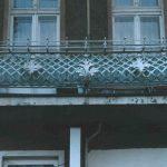 balustrada balkonu zdobienia