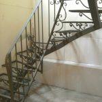 schody metalowe zabiegowe