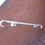 poręcz do schodów - metalowa ozdobna